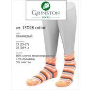 Женские носки GRINSTON 15D28 cotton