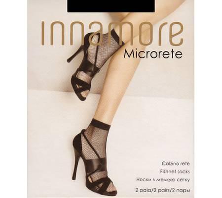 Носочки INNAMORE MICRORETE calzino, 2 paia