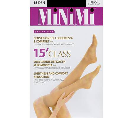 Гольфы MINIMI CLASS 15 gambaletto, 2 paia