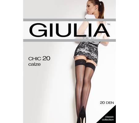 Чулки GIULIA CHIC 20 autoreggente