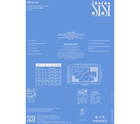 Колготки на каждый день SISI MISS 20