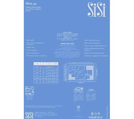 Колготки на каждый день SISI MISS 40