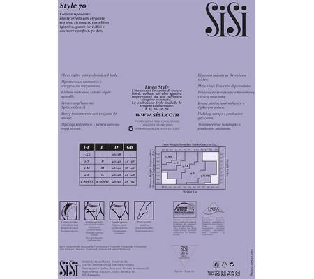 Колготки SISI STYLE 70
