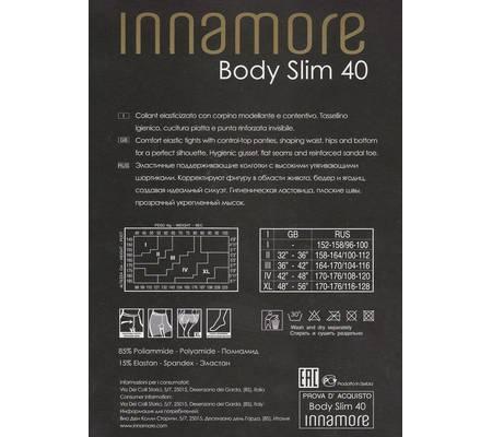 Колготки INNAMORE BODY SLIM 40