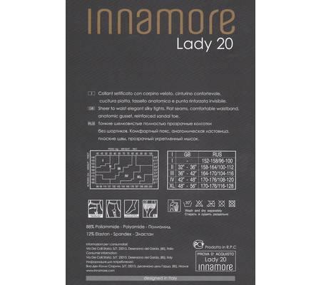 Колготки INNAMORE LADY 20