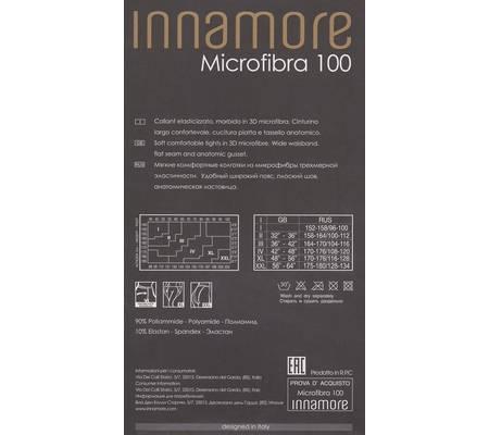 Колготки INNAMORE MICROFIBRA 100 XXL
