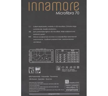 Колготки INNAMORE MICROFIBRA 70