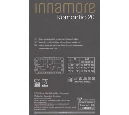 Чулки INNAMORE ROMANTIC 20 bas