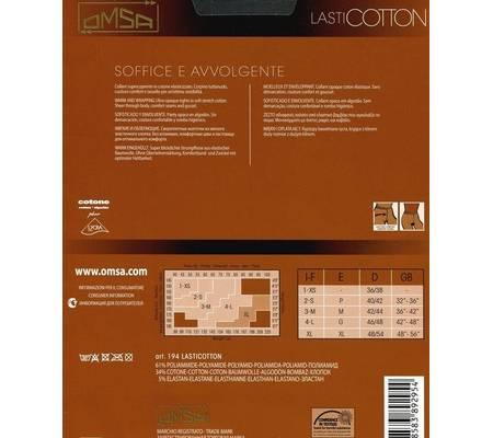 Колготки OMSA LASTICOTTON XL