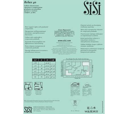 Колготки SISI RELAX 40