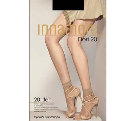 Носочки INNAMORE FIORE 20 calzino, 2 paia