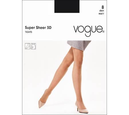 Колготки VOGUE SUPER SHEER 8 3D