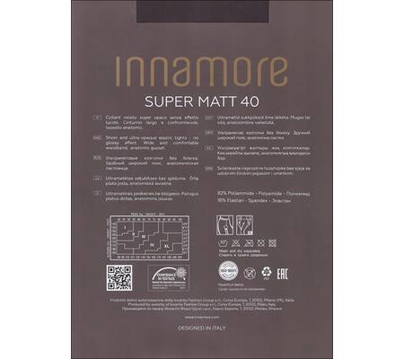 Колготки INNAMORE SUPER MATT 40