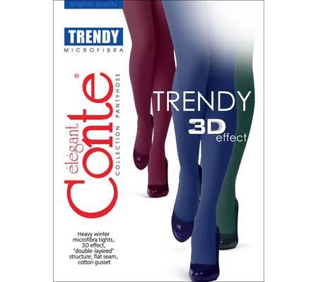 Колготки без шортиков CONTE TRENDY 150 colors