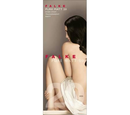 Гольфы FALKE art. 41712 PURE MATT 20 knee-high