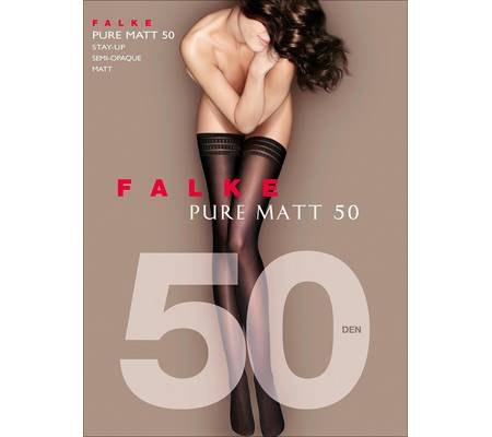 Чулки FALKE art. 41551 PURE MATT 50 stay-up