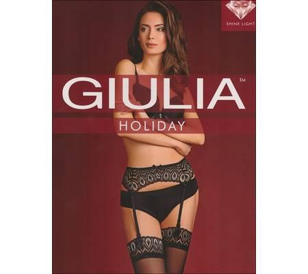Чулки GIULIA HOLIDAY 20 model 1 set чулки + пояс